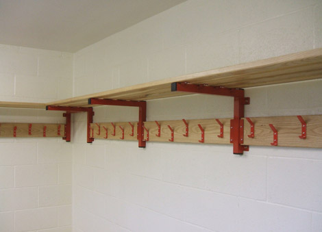 Peg Rails With Shelf Hanging Rails Shelves Shelf