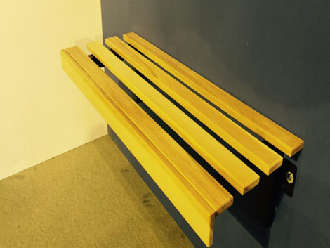 Removable Cantilever Style Bench