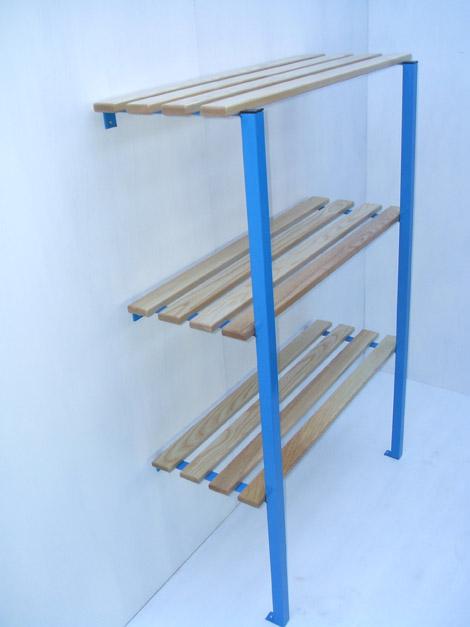 cantilever shelf  shelves  storage system  cloakroom shelves  changing room