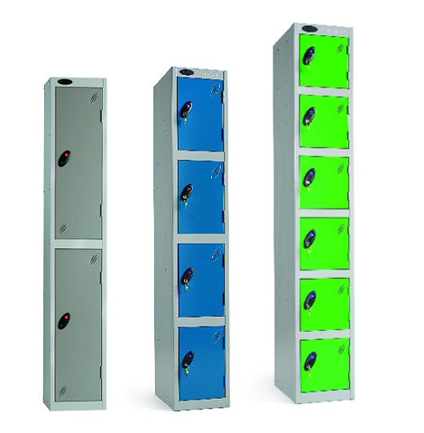 Lockers for cloakroom and changing room